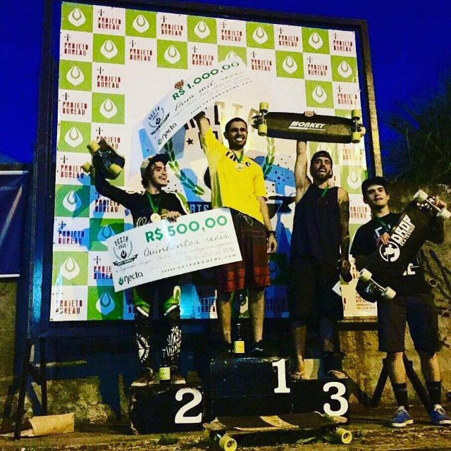 The race was in juiz de fora - mg @nectar 1- @GutoNegao 2- @lucas.americano 3 @iuriMaggi  4 - @pepelaporte Congratulation Guto!!!