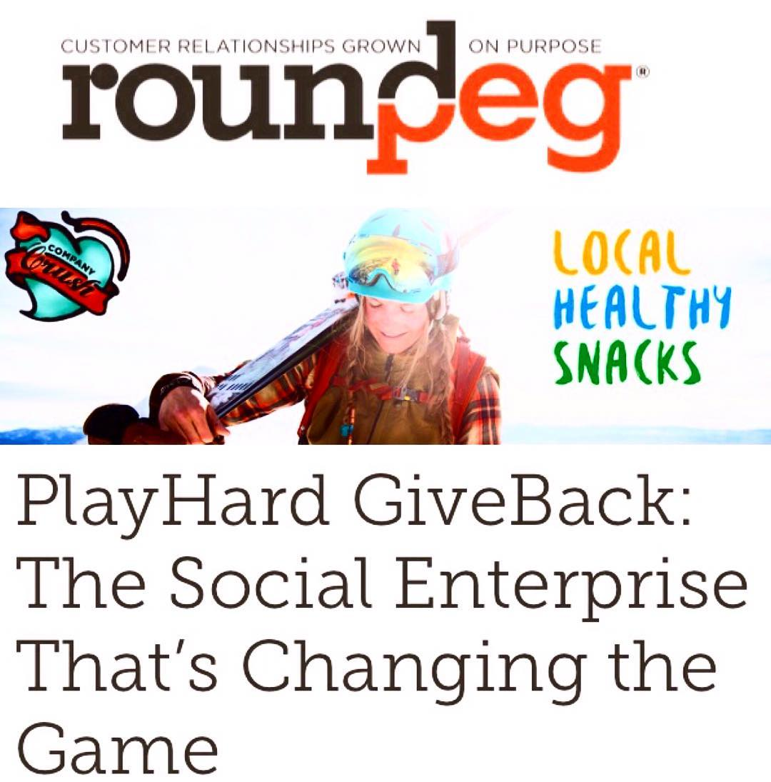 "Excited that Round Peg featured us as one of their ""Company Crushes""! Check out our link in bio for more information!"