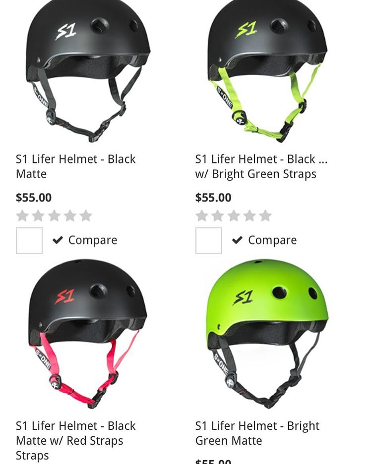 Ask your local skateshop about S1 Lifer Helmets or pick one up from the S1 Online Store www.s1helmets.com #localskateshop #skateshop #supportyourlocalskateshop #skatehelmet #s1helmet #s1lifer The S1 Lifer Helmet is 5x more protective than regular soft...