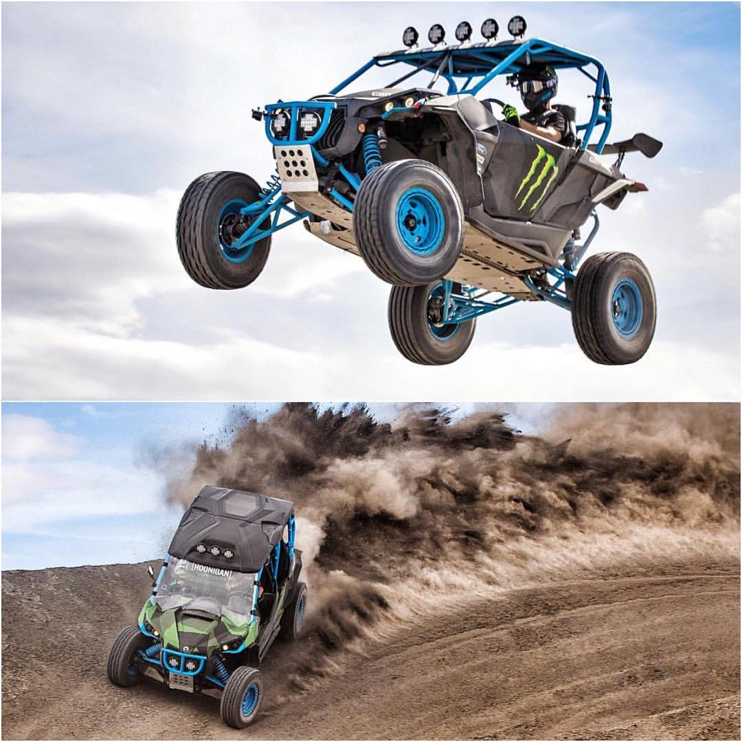 HHIC @kblock43 going ham in his @canamofficial Mavericks today. #TFTI #Hoonigan #UTV