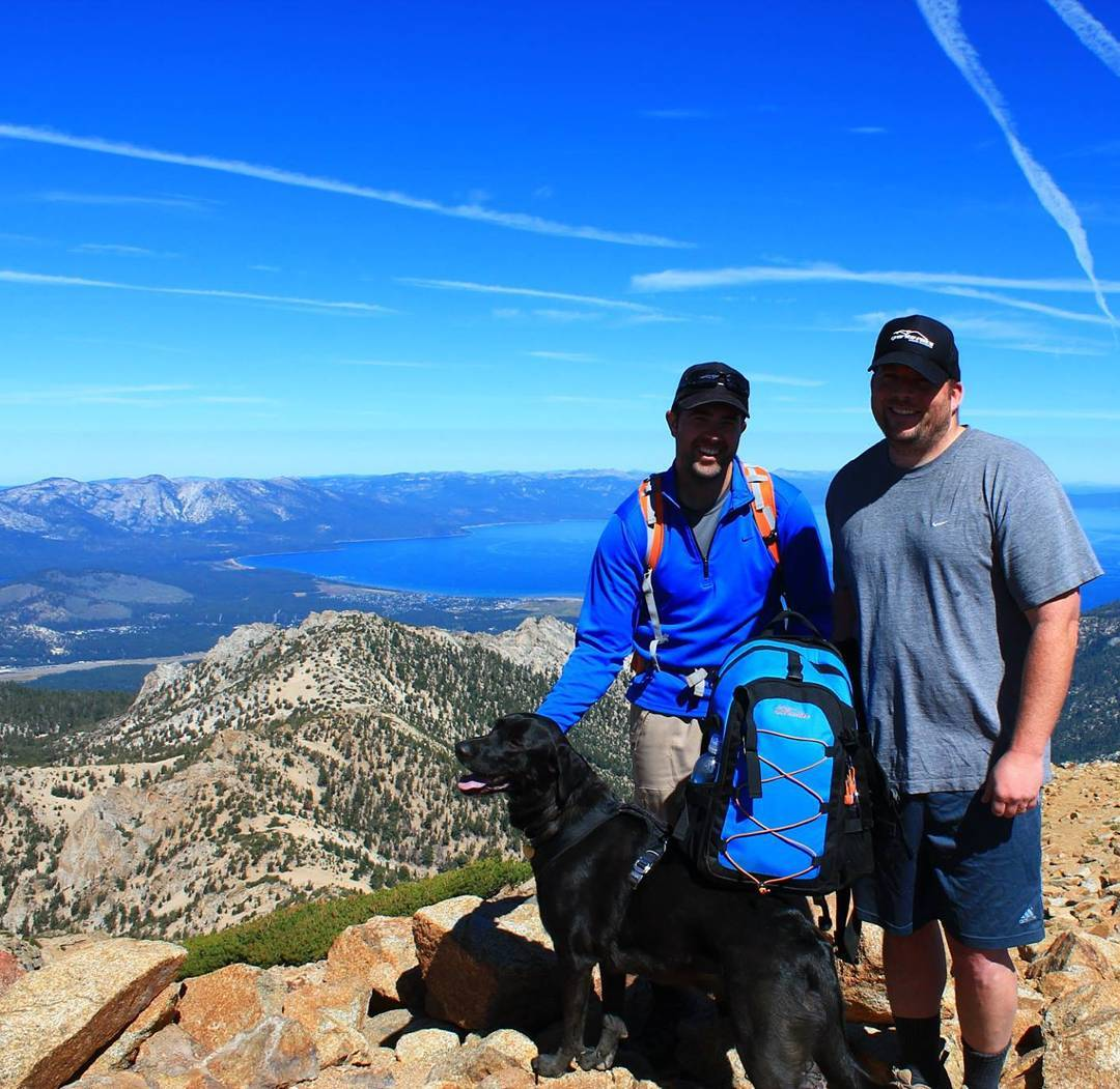 #tbt Hike to Freel Peak with the GR Cascade pack.  Excited to get out and do this one again this summer! #getoutside #hiking #peaks #xplorewild #laketahoe #tahoesouth #tahoesnaps #adventure #backpacks #renotahoe #graniterocx #outdoorsrocx