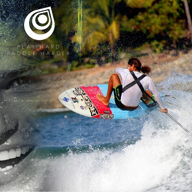 Nando catching the 10:35 flight to STOKEDville!!! @fernandosup  Photo credit, Ed Dorsett - Wicked Fotos  #takeflight #stoked #supsurf #almostsummer #allsmiles