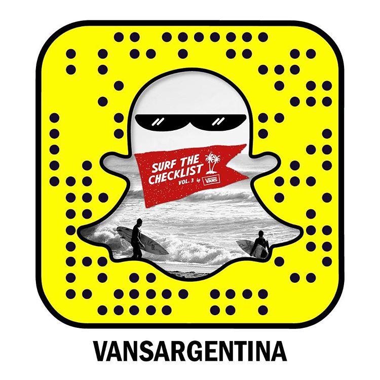 Hoy, a partir de las 11, #VansSurfTheChecklist, vol. 3 en @honubeach.mardelplata. Seguilo por Snapchat: vansargentina.