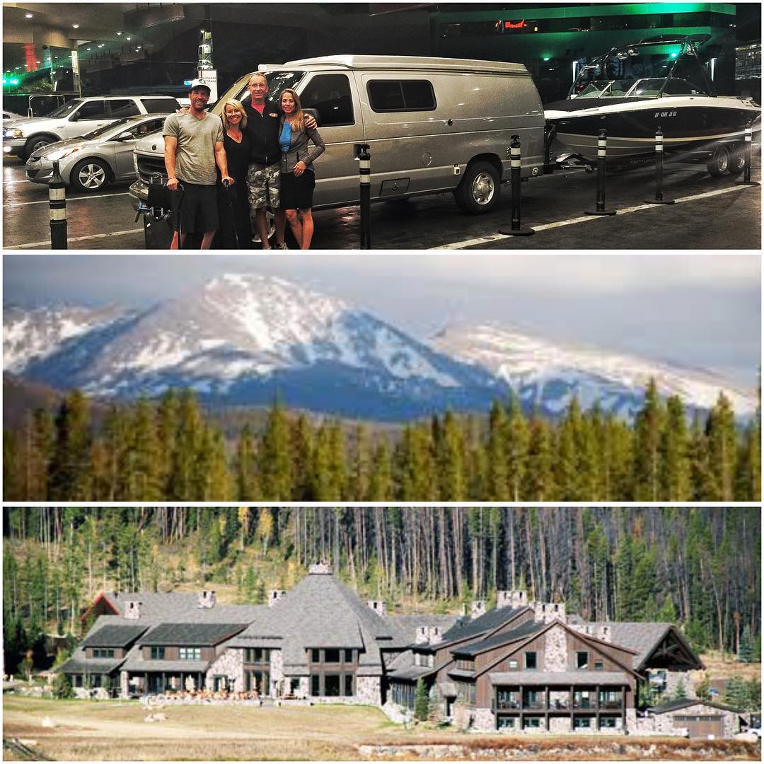 We stepped out of #VanDiesel close to midnight in #LasVegas, caught a sunrise flight to #Denver, and had a beautiful drive up to #WinterPark #Colorado for an offsite executive retreat at the @devilsthumbresort!! @shawnakorgan & I are #honored &...