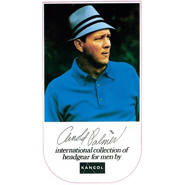 #tbt Arnold Palmer for #kangol