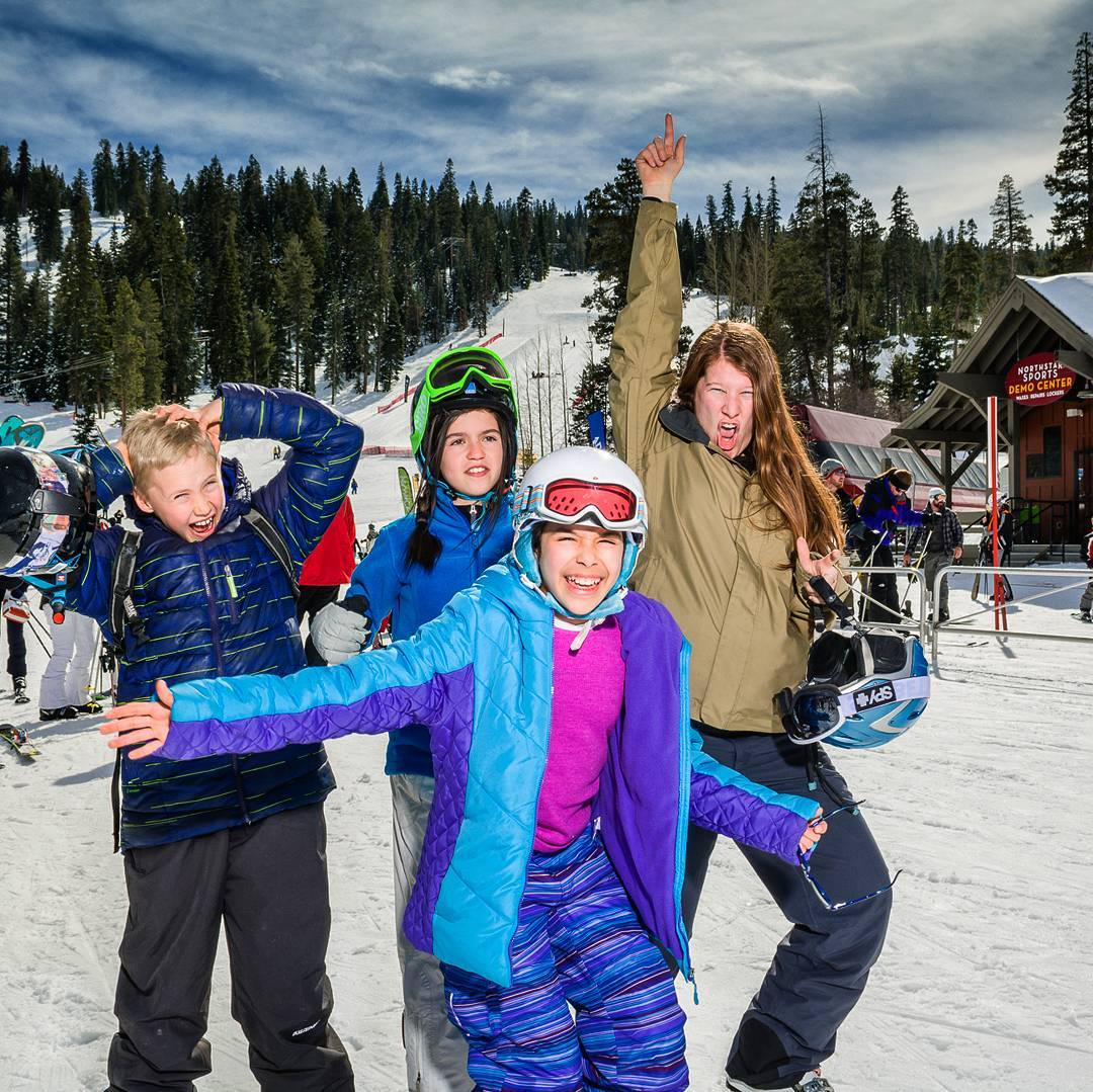500 youth at 6 #ski resorts = @sosoutreach largest program year in #Lake #Tahoe EVER!