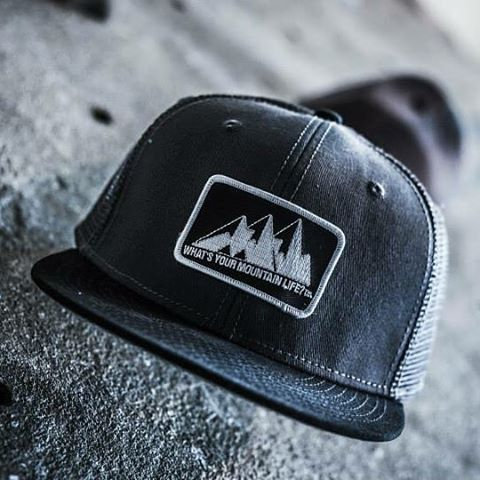 "#SnapBack #truckerhats $10 + shipping  Grey + Black: 10 Blue: 3 Black: 14 White: 4 Green: 11  Include your email, direct message us your address for shipping, claim your color  What's Your #mountainlife?"" #mountainlifeco #biking #cycling #downhill..."