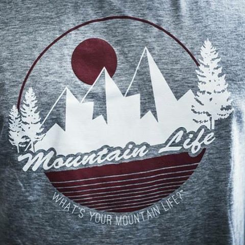 "Unisex Tees: $8 + shipping  Colors available: blue & grey  Grey: 4 small, 7 large Blue: 3 small, 7 medium, 5 large  Include your email, direct message us your address for shipping, claim your size & color  What's Your #mountainlife?"" #mountainlifeco..."