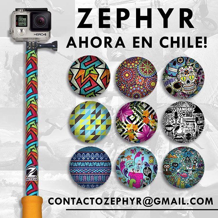 Ahora podés conseguir tu #ZephyrPole en #Chile! Contacto: contactozephyr@gmail.com