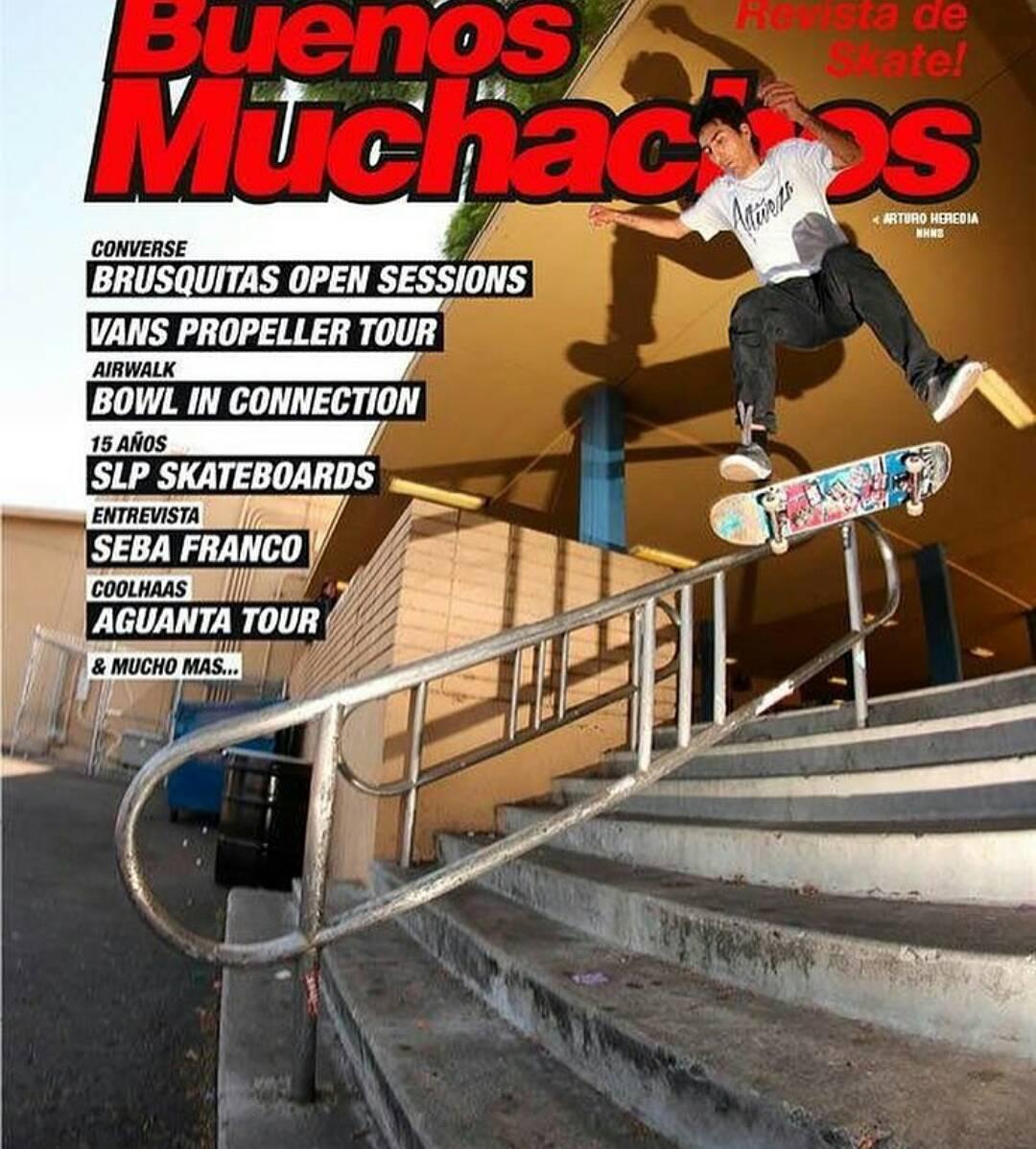 @arturaptorheredia nollieheelflip noseslide en LA nueva tapa @revista_buenos_muchachos CoNSeGuiLa gratis! Contu compra