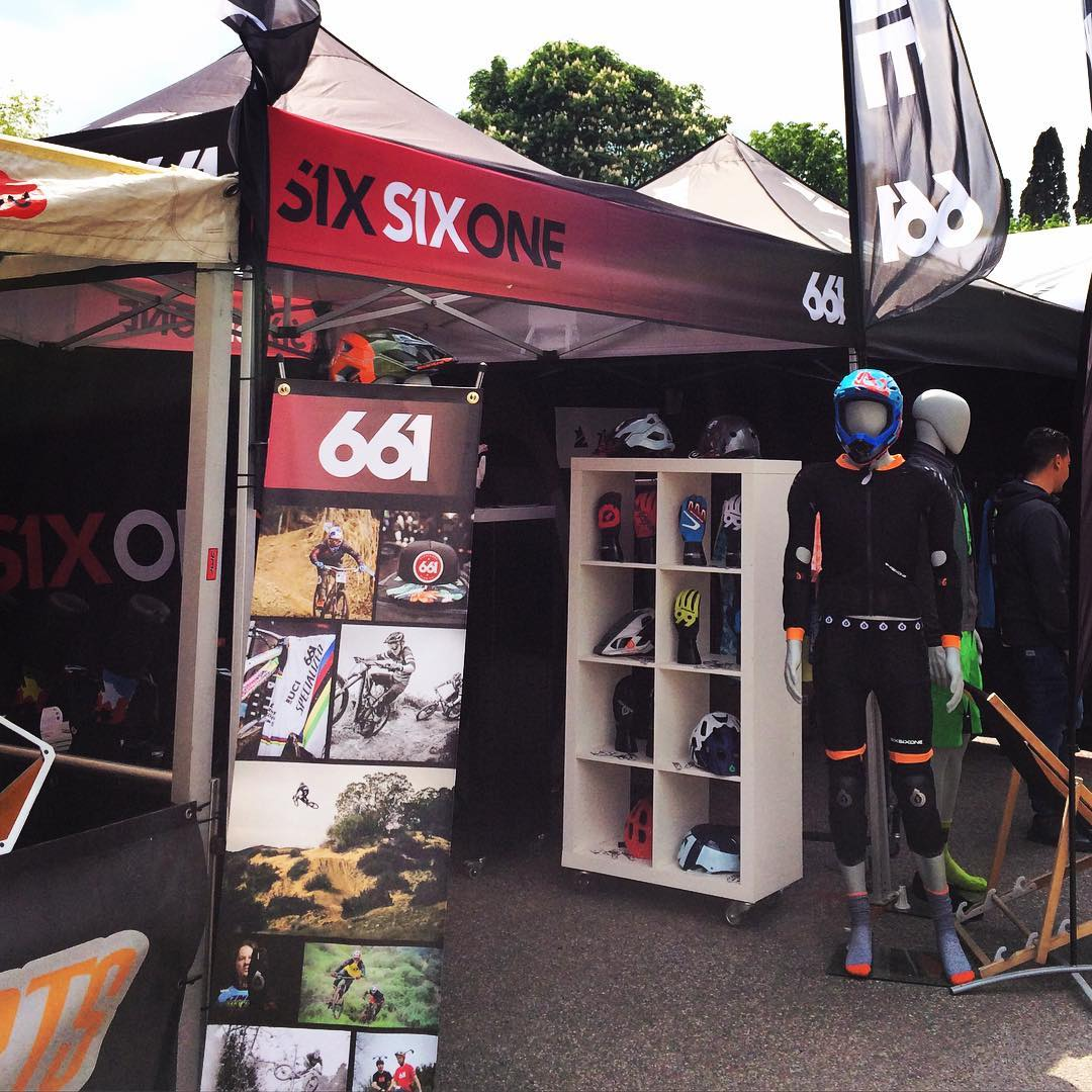 We're on site at the #Gardabikefestival supporting @ride.cosmicsports with their #SixSixOne setup. Stop by our booth to sign up to our onsite competition and grab some stickers! #661protection #everyonelovesstickers #ProtectFun