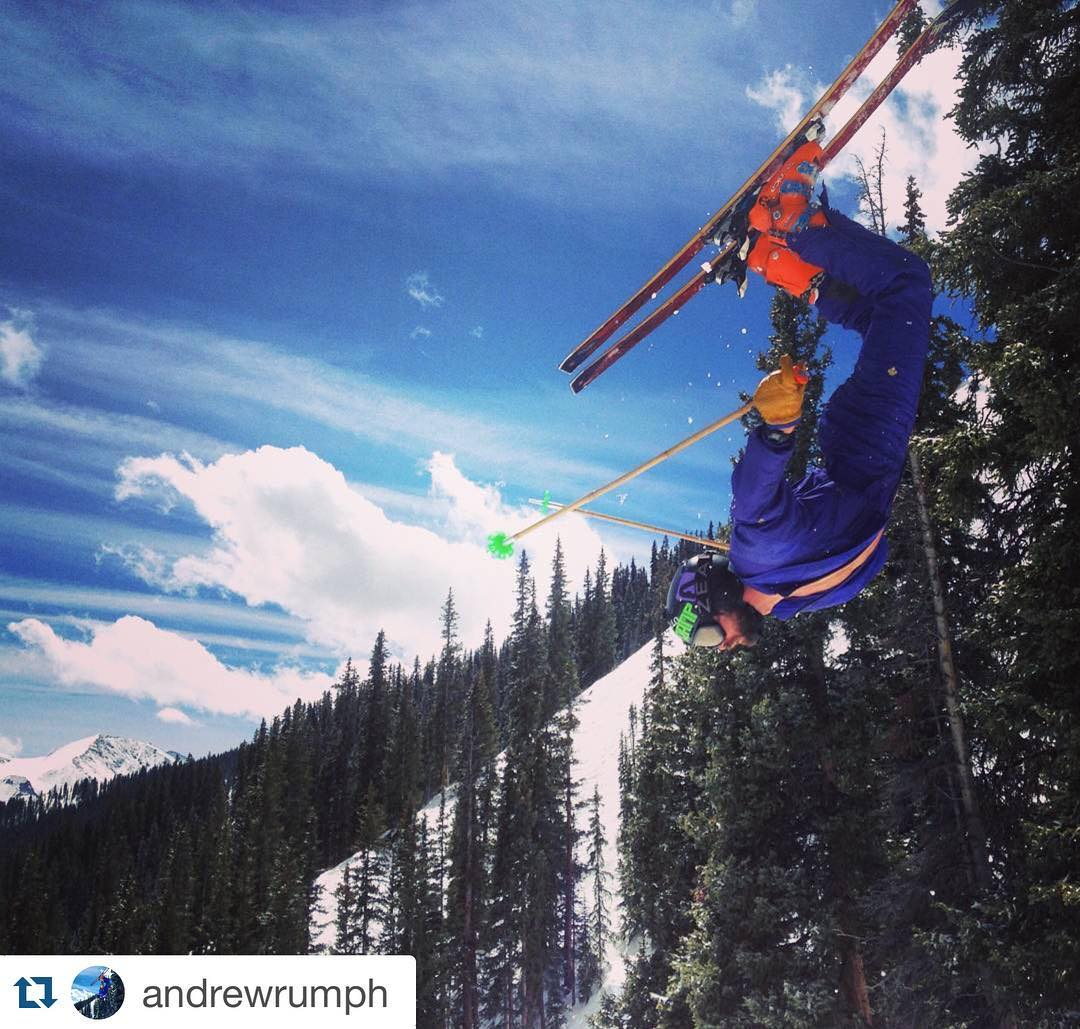 just a matter of time before SP athlete @andrewrumph heads south to chase winter... who else isn't done skiing?! #soulfulsituations #stillskiing