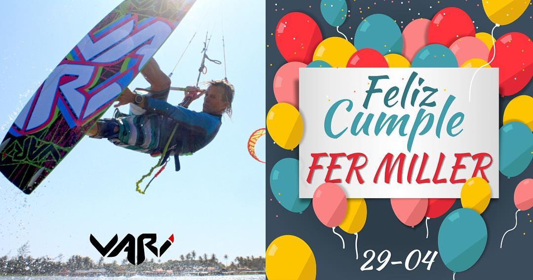 Happy birthday @fermiller_kitesurf!