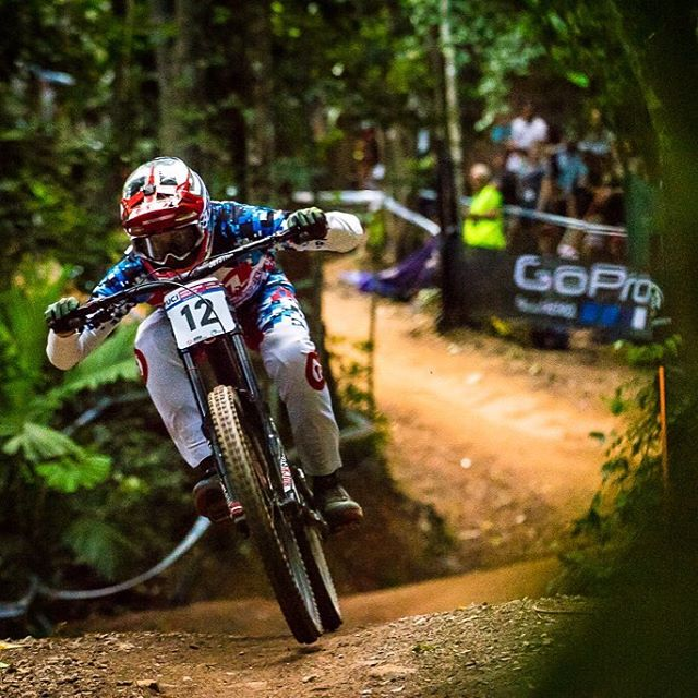 #FlashbackFriday @lorisvergier looked fully pinned on track in Cairns. Stoked to see Loris maintain his form with a solid 11th in qualifying and final 7th spot finish. #SixSixOne #661Protection Photo Matt DeLorme #ProtectFun