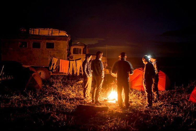 Life seems simpler around a campfire. #GetOutStayOut  Photo: @chrisburkard