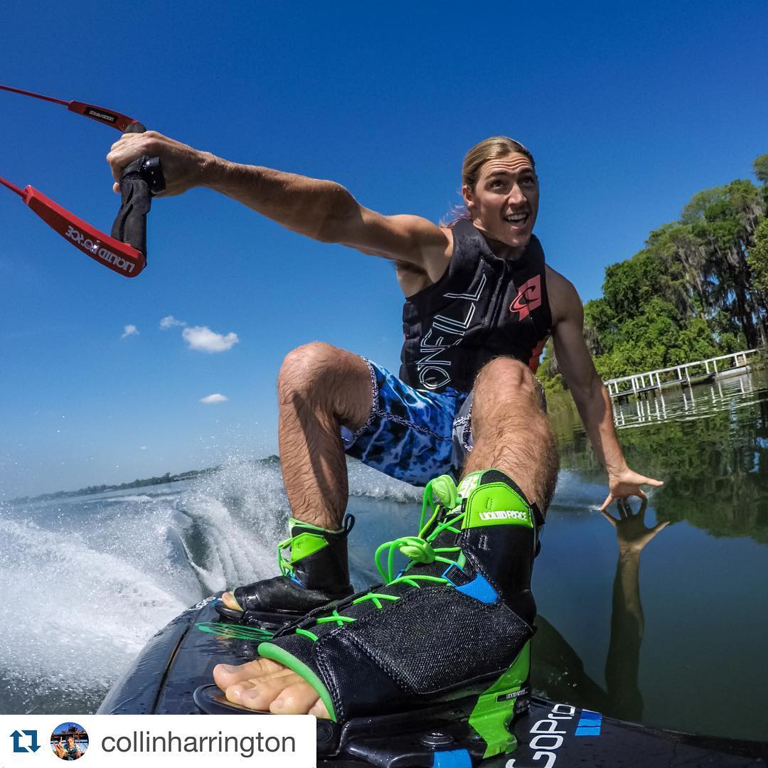 #Repost @collinharrington ・・・ Takin a ride through Butter biscuit bay @gopro #gopro @liquidforcewake