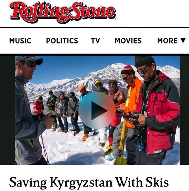 WOW!! An article in @rollingstone !!?? Click the link in our bio to learn about #phgb ambassadors @naylanator & @lexidupont giving back to the people of #kyrgyzstan @returntokg || The Journey That Keeps On Giving || @playhardgiveback