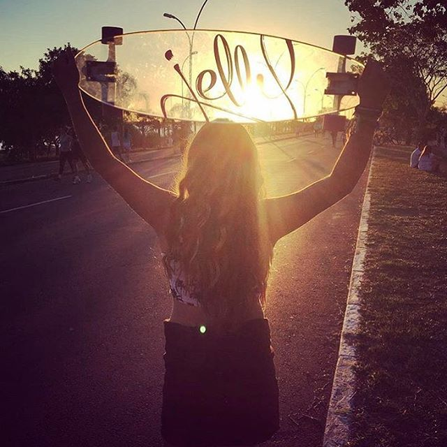 Happy Friday!! #jellyskateboards #jellymanowar #longboard #skateboard #sunset #repost ||