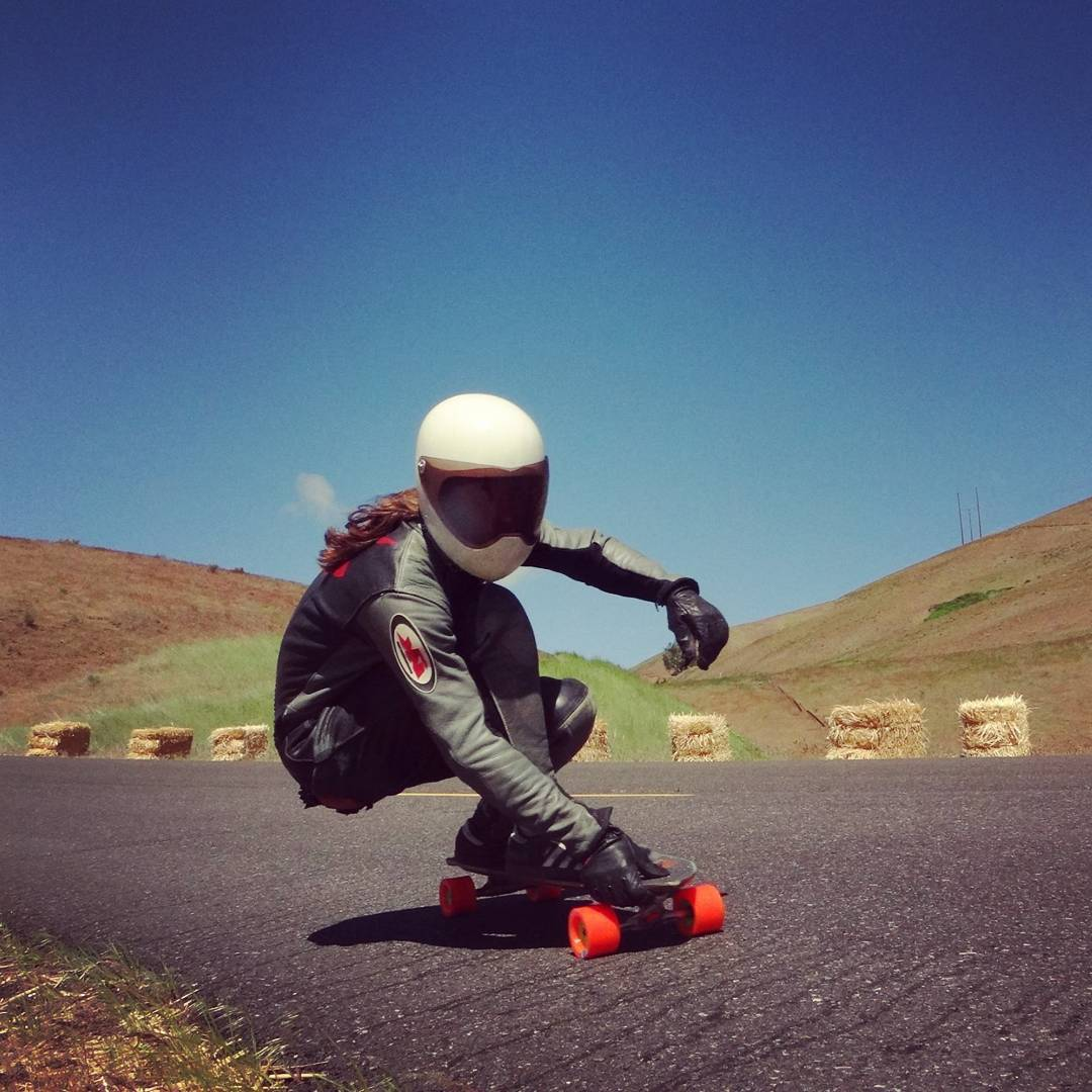 Stefan Kaiter-Snyder--@skaiter_art ripping Maryhill on the MC Cat board!  #stefankaitersnyder #mccatboard #bonzing #orangatangwheels #randaltrucks #venombushings #midslids