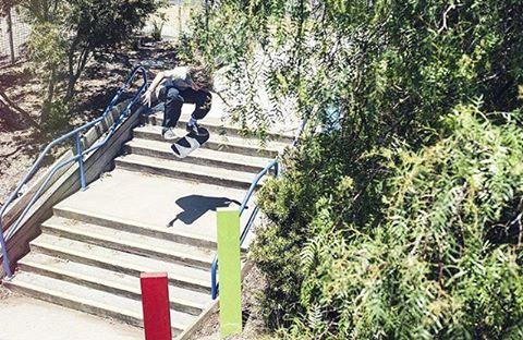 Australian Team Rider @harrymcevoy kickflip