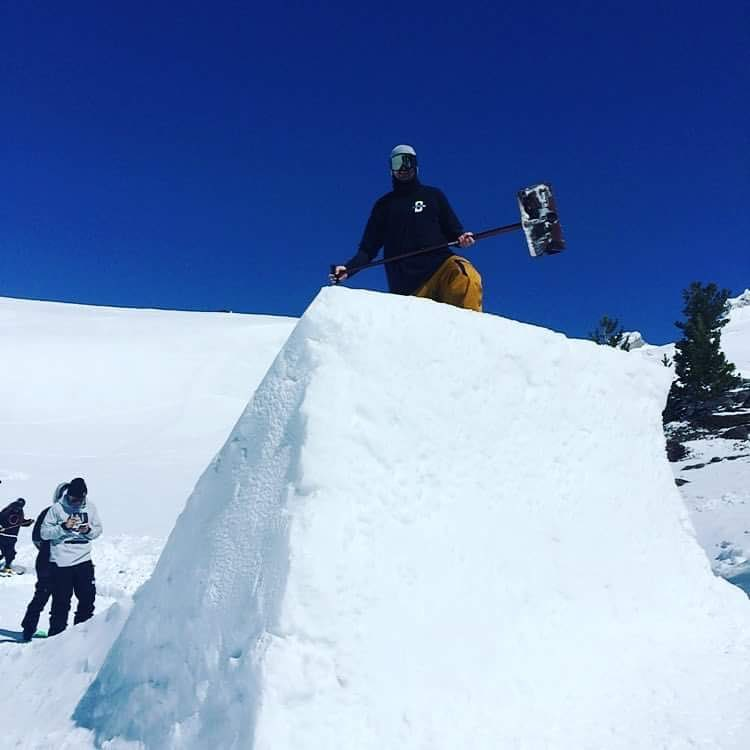 @jf_houle getting to work before the #westcoastsession starts! #buildbetterjumps