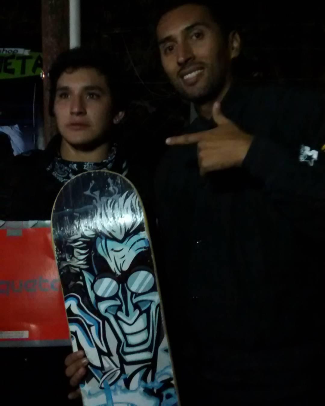 Felicitamos a Leo loza que hago el campeonato de Tartagal Salta y se ganó una tabla Lab !!