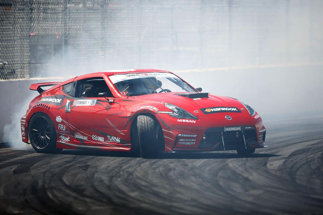 Who's ready for @formulad Atlanta? @geoffstoneback in the 1000whp naturally aspirated Nissan v8! #stopthehategetav8