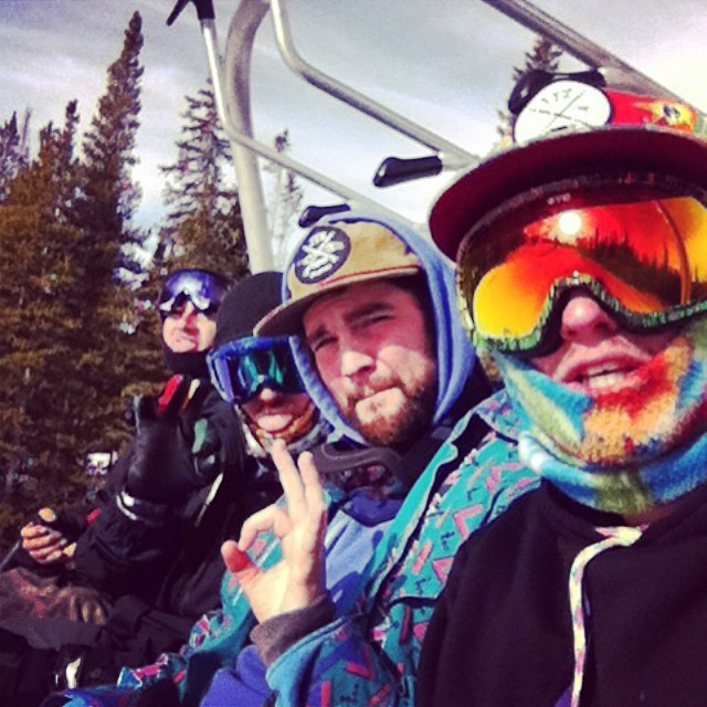 #tbt to the mandatory chairlift selfie // ready for Woodward copper summer camp! And next years fresh snow. @whocutthechez @jefferson_mathis @_13rian_ @dbagpro  #4dudes1chair #chairliftselfie #coloRADo #sent #happyshredding #stzlife #professionaloutsider