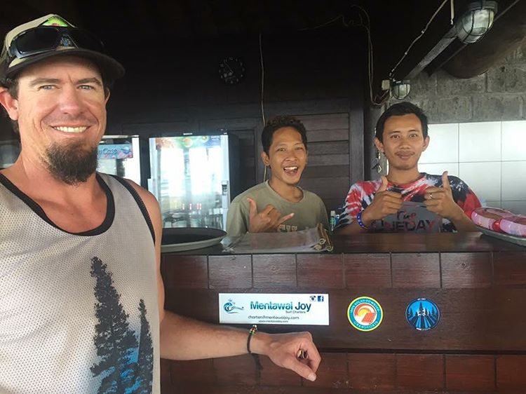 A little time for inspiration and a break from the office.... Here's half of Rise Designs in Bali, Indonesia getting some surf. Gotta slap a sticker up! #risedesigns #risedesignstahoe #stickersaroundtheworld #bali #indonesia #inspiredbynature