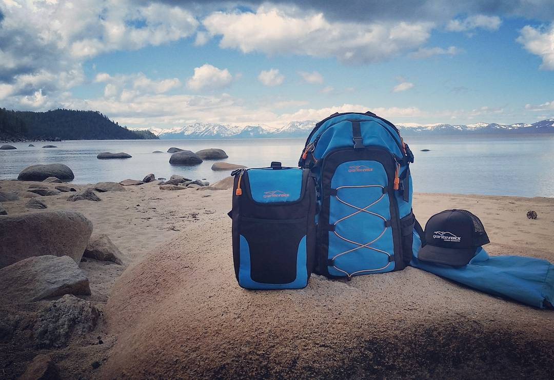 Couldn't ask for a better morning at Chimney Beach! An ideal excursion for the Cascade backpack & cooler!  #hiking #alltoourselves #beach #tahoelife #getoutside #renotahoe #tahoesnaps #laketahoe #backpacks #coolers #xplorewild #graniterocx #outdoorsrocx