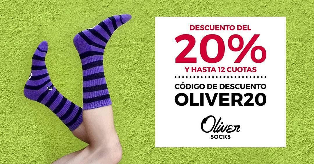 #Promo ¡Aprovechá hoy el 20% de descuento en #OliverSocks ingresando el CÓDIGO OLIVER20 al momento de finalizar tu compra!  Vestí tus pies con diseño y color a un precio promocional en ---> https://www.oliversocks.com . . #Oliver#Medias#Violets...