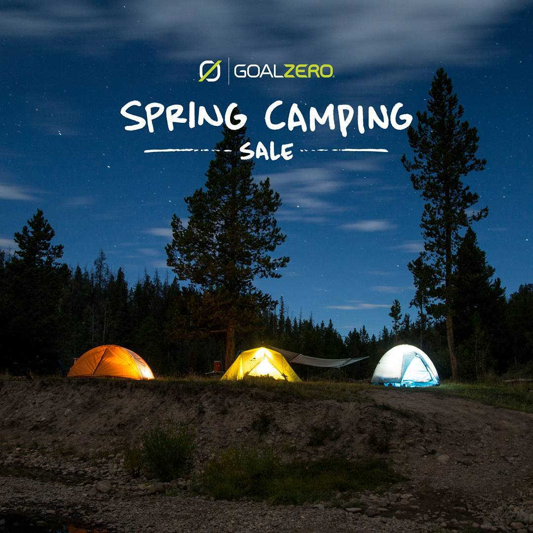 Have a few camping trips planned this summer? Check out our Spring Camping Sale and get the gear you need!  Follow the link in our profile to learn more.