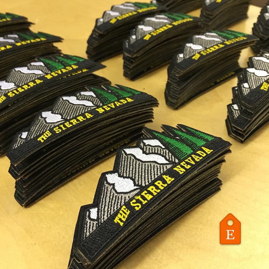 Just restocked our Sierra Nevada snap snacks. #risedesignstahoe #risedesigns #sierranevada #mountains #tahoe #patches #hats