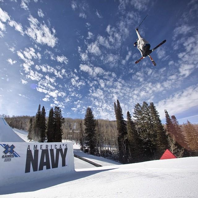 Spring skiing! #tbt @guskenworthy