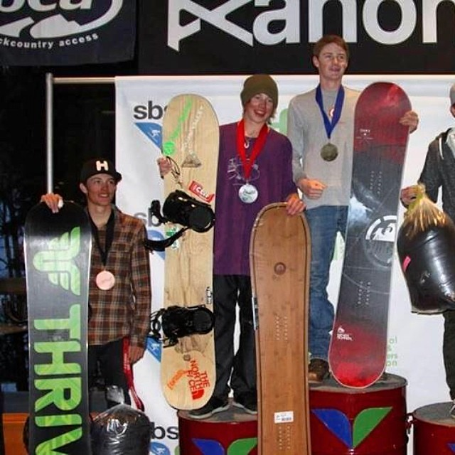 The young guys are killing it! Corey Walewski shot us this photo of him taking 4th place at the Junior Freeride Nationals. Looks like the Relentless was just what he needed to tear up Snowbird. Evidently Corey is going to put more focus on big mountain...