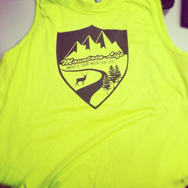 We love #neon and #tbt with some 70s-esque #apparel, we love the #mountains but we love #safety for our #mountaineers the most; whether #hiking #climbing a #14er #cycling #mountainbiking #trailrunning #xterra #downhill #flyfishing #kayaking #BMX...
