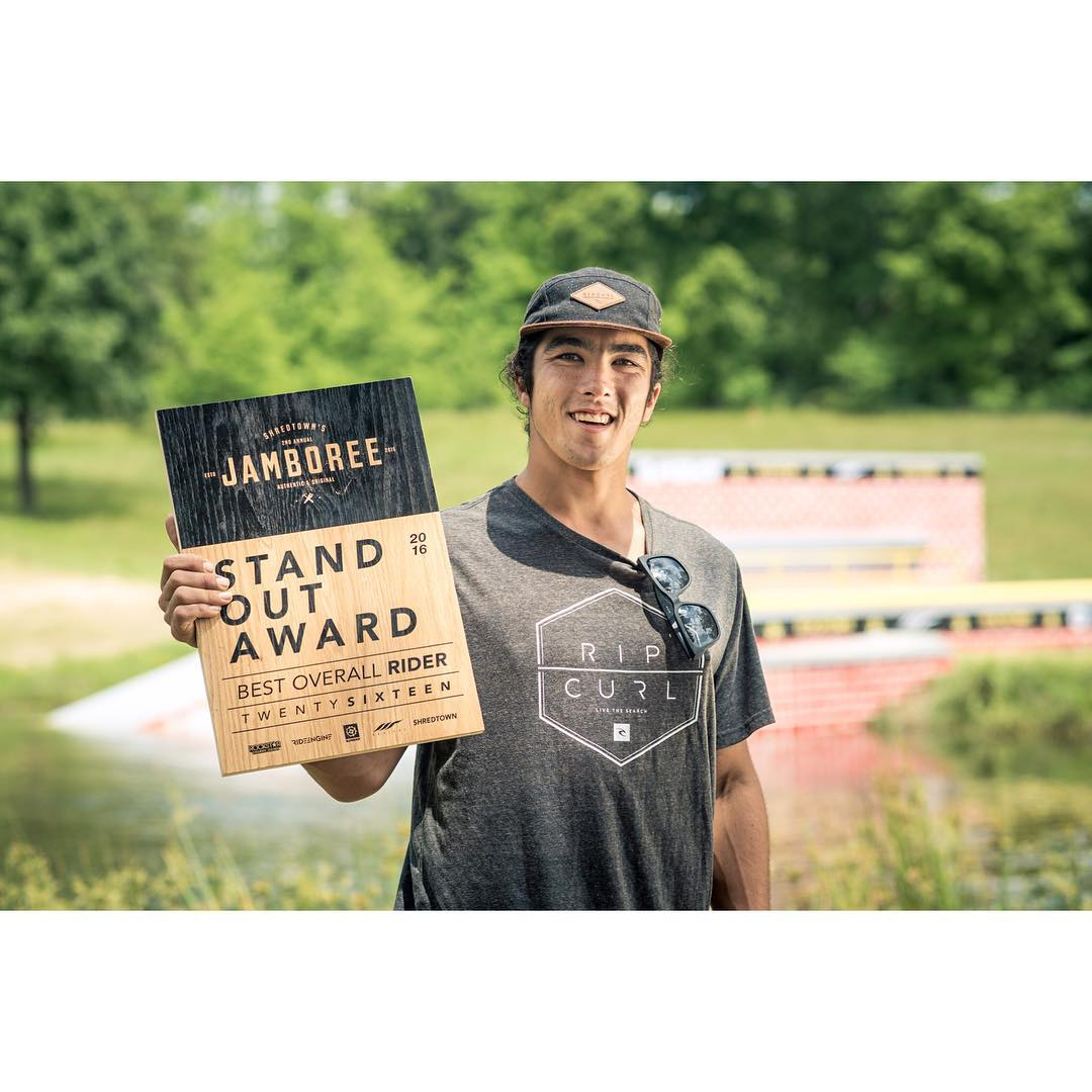 Congrats to this guy for winning the Stand Out Award at Jamboree this past weekend!