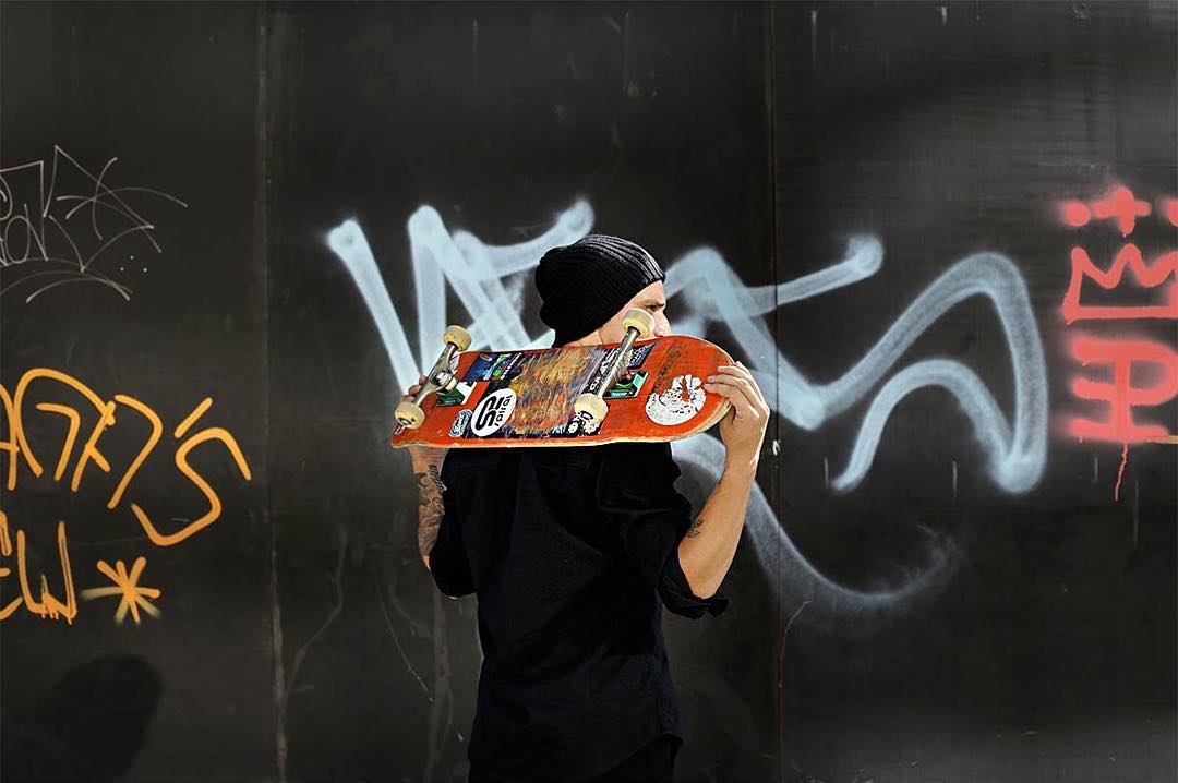 Stay in Black.  #SpiralShoes #Skateboarding #Skateclothes #Skatelife