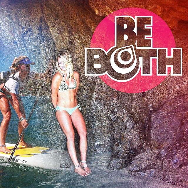 "INTRODUCING Rogue's New Female Campaign. ""BE BOTH""  Tomboy or girlie girl... who says that girls have to be categorized as ONE KIND of girl or another? Rogue SUP is proud to support the ladies that like a little of both worlds. A BALANCED lifestyle is..."