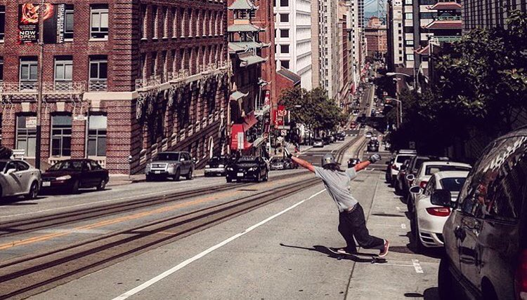 @noah__fish getting it in SF. photo: @toms_wurld #caliberstandard