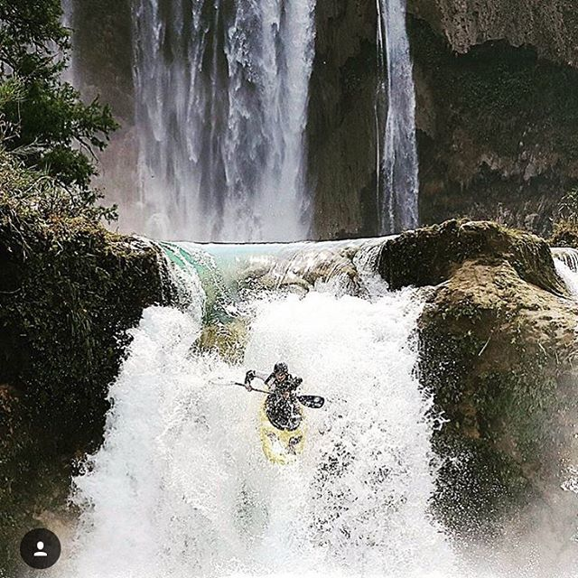 @oscar_xtr getting #waterfallwednesday going!  Good news about helmets coming soon! #cuzrockshurt
