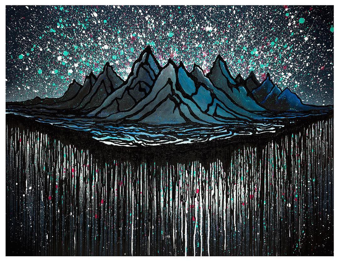 Northern Lights by @bryaniguchi goes deep in to the mystical elements of the mountains. Like his riding, Bryan's art is rooted in power, reverence and soul. In honor of this new piece you'll receive a FREE, not-for-sale print of Northern Lights with...