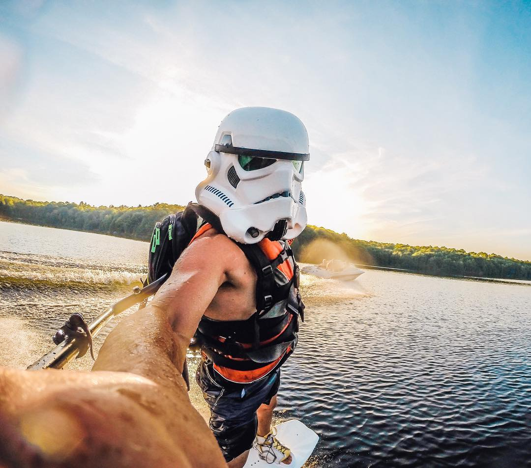 Photo of the Day! Sometimes, #stormtroopers need a little R&R. #maythe4thbewithyou #StarWars  #