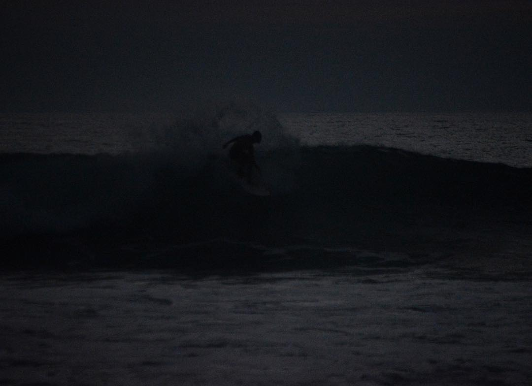 Surfing night | Rio Chico, Ecuador