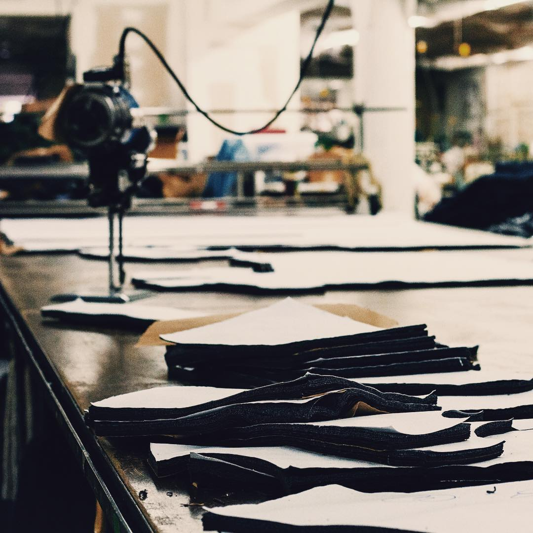 Cut and sewn by hand right here in California.  _ #madeinUSA