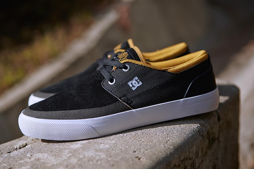 The votes are in and the #WesKremer2 is the people's choice! Get it in Black/Gold at your local shop or the link in our bio! #WesKremer #DCShoes