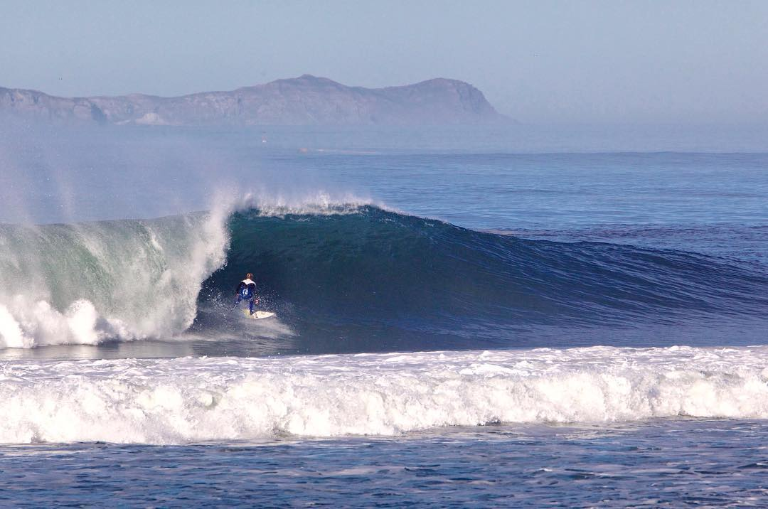 El Niño delivered this winter. @rickywhitlock enjoying the goods!