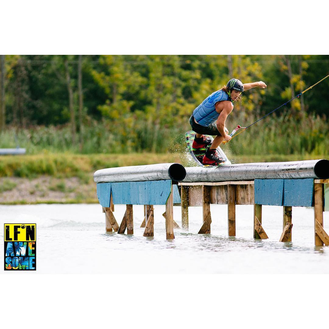 The week can be a GRIND... It's hump day, you're half-way there.  @bobsoven recommends that you keep it LF'n Awesome!  LiquidForce.com/LFn