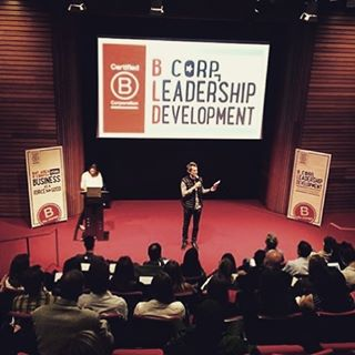 We feel so lucky to be part of this amazing community of companies and people that challenge the way business used to be run. Thank you @bcorporation for having us at this BLD event in #berkeley!  #bthechange