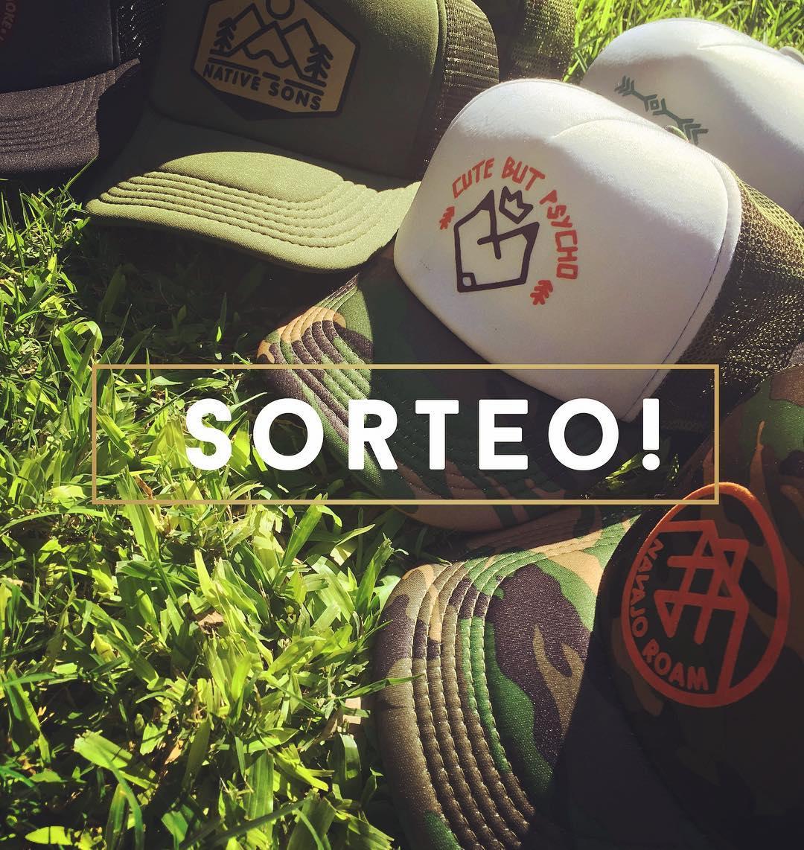 ▶️▶️ SORTEO ‼️ ◀️◀️ 4 caps para vos y tus amigos/as !